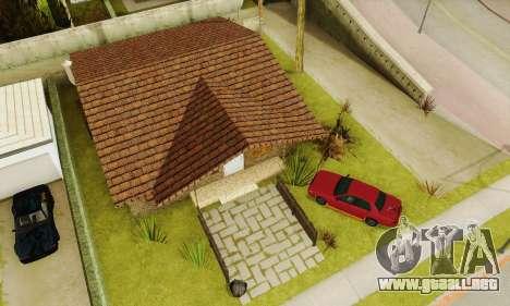 Nuevas texturas de la casa de Denis para GTA San Andreas sexta pantalla