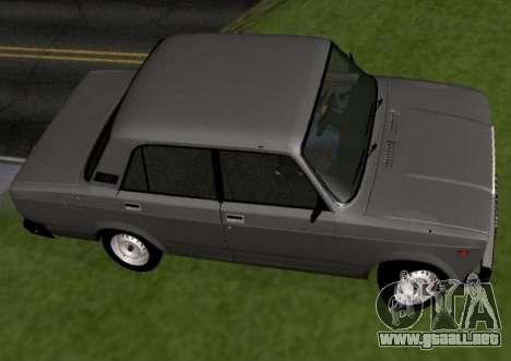 VAZ-2107 para GTA San Andreas left