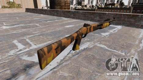 Ружье Benelli M3 Super 90 Caída Camuflaje para GTA 4 segundos de pantalla