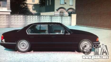 BMW 735iL E32 ver 2 para GTA 4 left