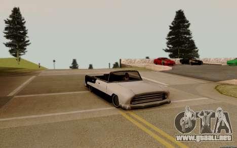 Oceanic Convertible para visión interna GTA San Andreas