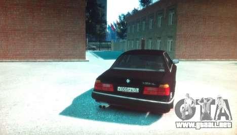 BMW 735iL E32 ver 2 para GTA 4 Vista posterior izquierda