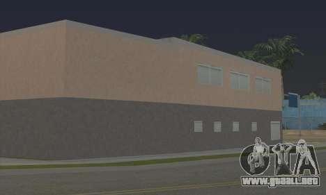 New gym para GTA San Andreas sucesivamente de pantalla