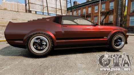 GTA V Vapid Dominator wheels v1 para GTA 4 left