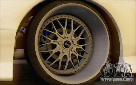 Nissan 240sx Blister para GTA San Andreas vista hacia atrás