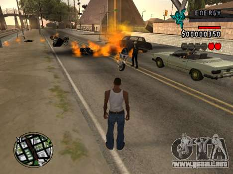 C-HUD Energy para GTA San Andreas tercera pantalla