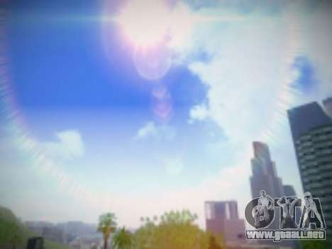 SkyBox Arrange - Real Clouds and Stars para GTA San Andreas