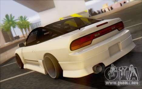 Nissan 240sx Blister para GTA San Andreas vista posterior izquierda