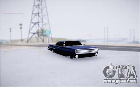 Voodoo Low Car v.1 para GTA San Andreas left