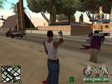 C-HUD Prostokvashino para GTA San Andreas segunda pantalla