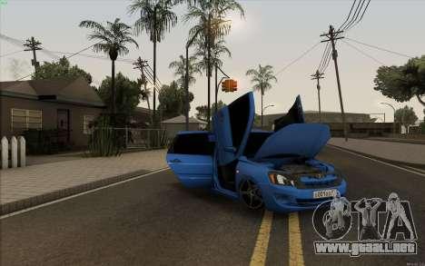 Lada Granta para visión interna GTA San Andreas