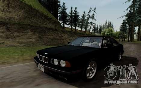 BMW 540i (E34) para la visión correcta GTA San Andreas