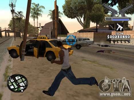 C-HUD Deagle para GTA San Andreas tercera pantalla