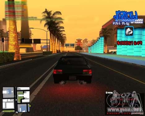 C-Hud Diamond RP para GTA San Andreas