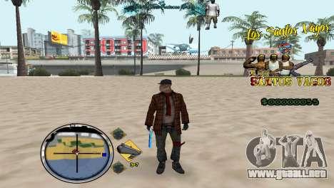 Vagos HUD para GTA San Andreas