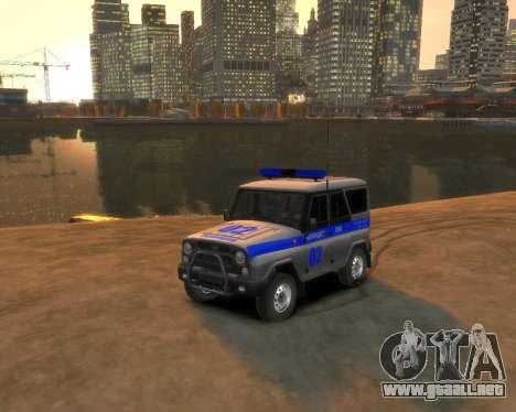 UAZ 315195 Cazador de la Policía para GTA 4