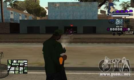 C-HUD SWAG para GTA San Andreas tercera pantalla