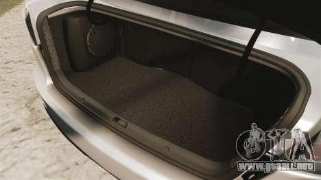 Mitsubishi Lancer Evolution X FQ400 para GTA 4 vista lateral