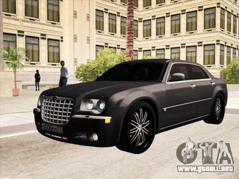 Chrysler 300C 2009 para vista inferior GTA San Andreas