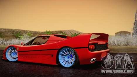 Ferrari F50 1995 para GTA San Andreas left