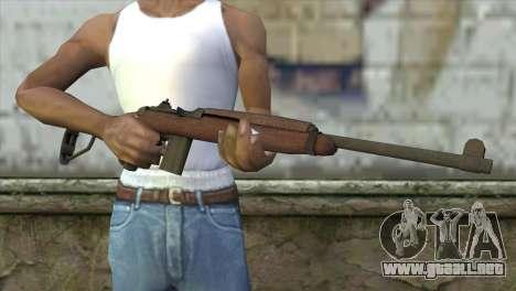 MK-18 Assault Rifle para GTA San Andreas tercera pantalla