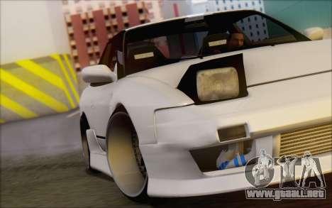Nissan 240sx Blister para la vista superior GTA San Andreas