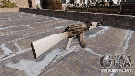 El AK-47 Chrome para GTA 4 segundos de pantalla