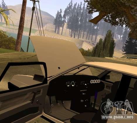 ВАЗ 2108 GVR Versión 2.0 para la visión correcta GTA San Andreas