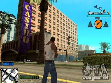 Hud ACAB para GTA San Andreas tercera pantalla