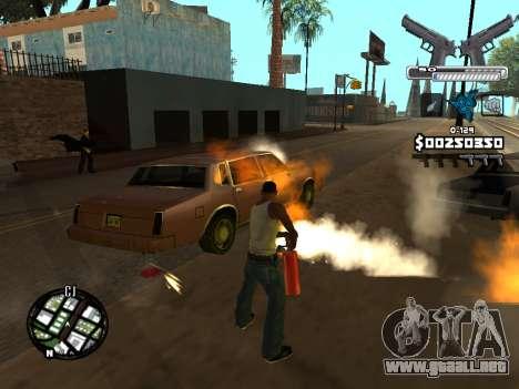 C-HUD Deagle para GTA San Andreas séptima pantalla