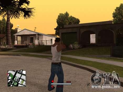 C-HUD by SaMoGoN para GTA San Andreas