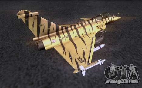 Dassault Rafale M para GTA San Andreas left