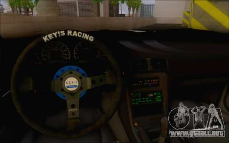 Nissan 240sx Blister para visión interna GTA San Andreas