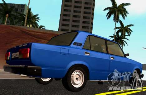 VAZ-2107 Riva para GTA San Andreas left