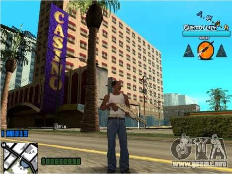 Hud ACAB para GTA San Andreas segunda pantalla