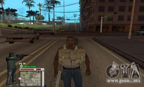 C-HUD Grove by Krutoyses para GTA San Andreas sucesivamente de pantalla