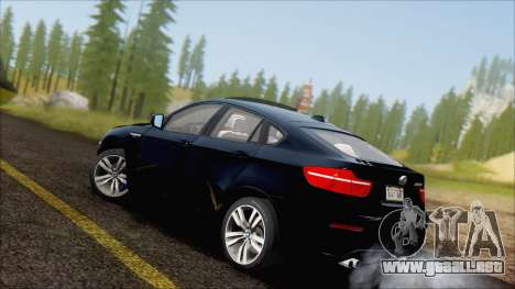 BMW X6M E71 2013 300M Wheels para GTA San Andreas left