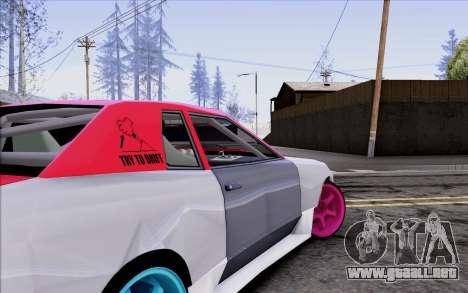 Elegy New Drift Kor4 para la vista superior GTA San Andreas