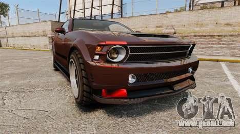 GTA V Vapid Dominator wheels v1 para GTA 4