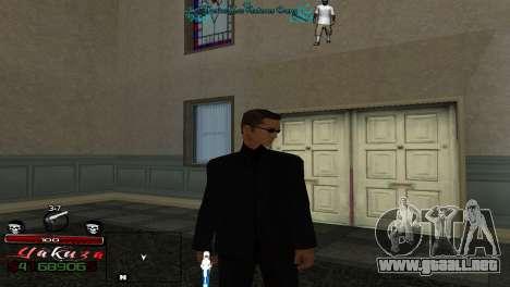 Yakudza HUD para GTA San Andreas