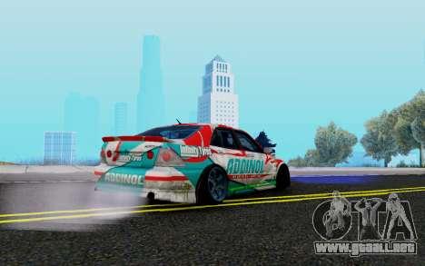 Toyota Altezza Addinol para la visión correcta GTA San Andreas
