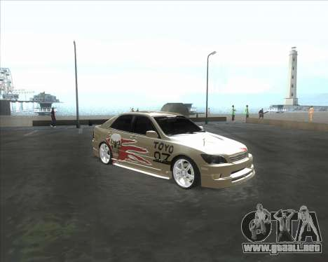 Lexus IS300 Tuneable para GTA San Andreas