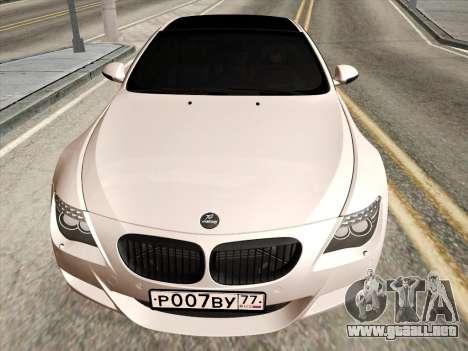 BMW M6 Hamann para GTA San Andreas left