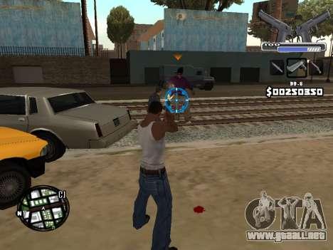 C-HUD Deagle para GTA San Andreas quinta pantalla