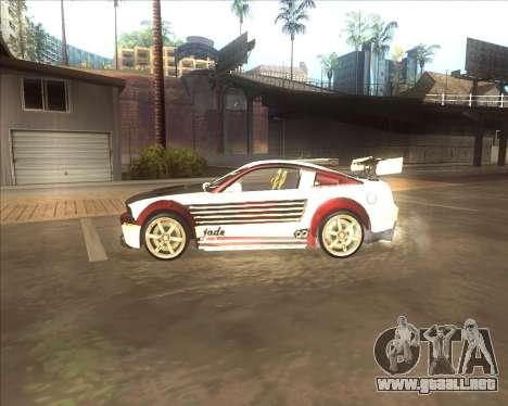 Ford Mustang GT из NFS MW para GTA San Andreas left