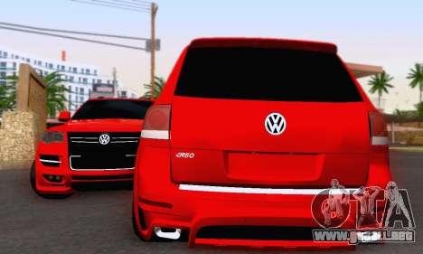 Volkswagen Touareg Mansory para GTA San Andreas left