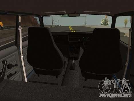 VAZ-2107 Riva para la visión correcta GTA San Andreas