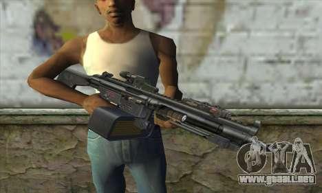 HK 23E para GTA San Andreas tercera pantalla
