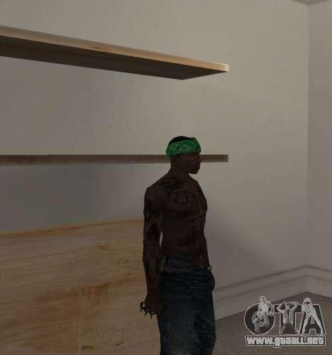 Nueva bandanas para CJ para GTA San Andreas tercera pantalla
