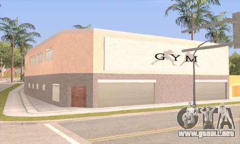 New gym para GTA San Andreas